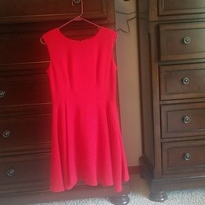 The Limited red dress